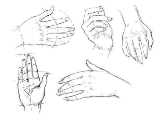 Hände zeichnen lernen für Anfänger-dekoking-com-3
