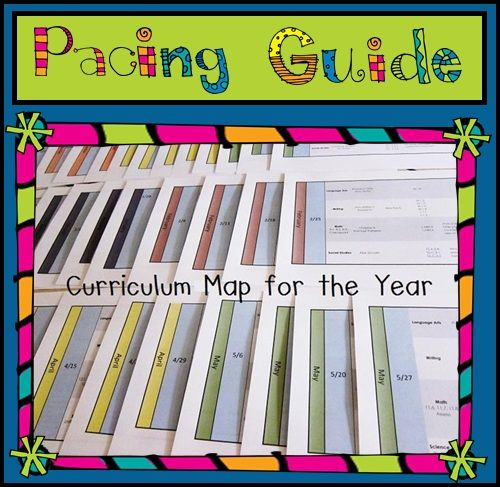 1000 images about pacing guides on pinterest week by for Pacing calendar template for teachers