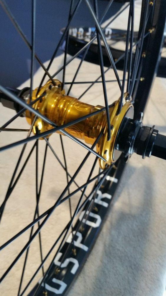 Profile bmx 14mm wheelset/g•sport  Bmx wheels gold | Sport