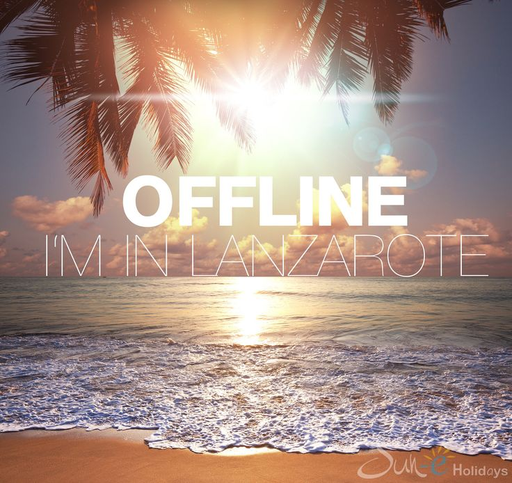 When is the last time you were really offline while on #holiday? good to know that all our #villas #Lanzarote have WIFI just in case :)))