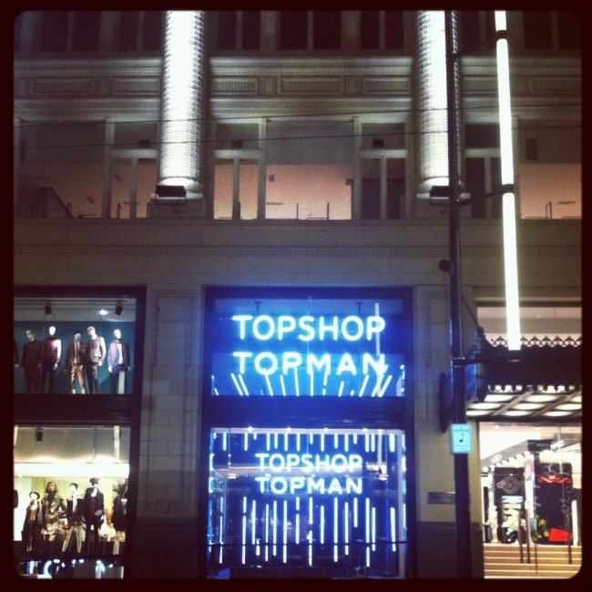 TOPSHOP and TOPMAN launch in Downtown Vancouver