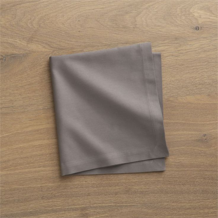 """Soft cotton napkins mix and match gorgeous tones of saturated color.  Elegant yet easy-care napkin is tailor finished with 1"""" hem and mitered corners. 100% cottonMachine wash cold, tumble dry; warm iron as neededMade in India."""