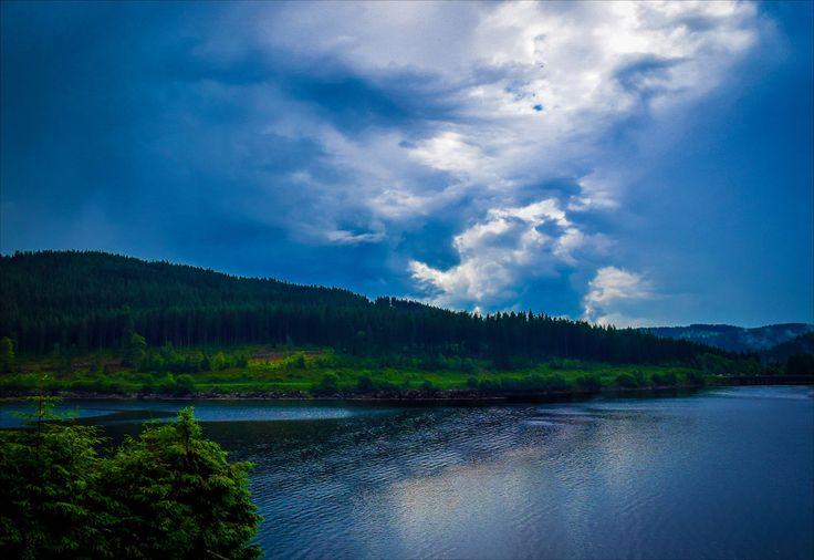 Lake Musreau Eruption  http://vaughnashby.com/AuroraWasteland/lakemusreaueruption/  #Disaster #Eruption #GasCloud #Alberta #AuroraWasteland