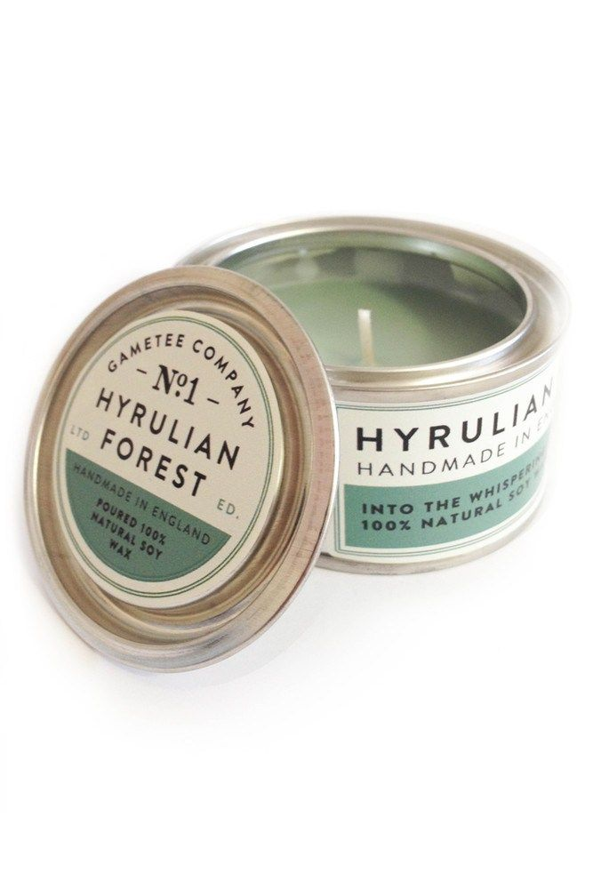 Hyrulian Forest The British video game merchandise company Gametee has created a series of scented candles inspired by video games like The Legend of Zelda and Portal. The candles, which are made o...