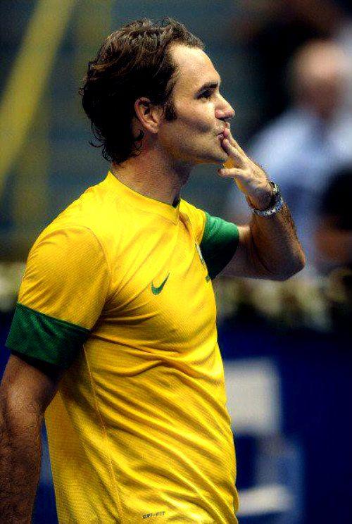 Roger Federer - Sao Paulo 2012