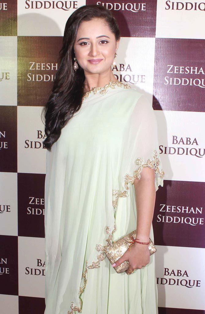 Rashami Desai at Baba Siddique's iftar party. #Bollywood #Fashion #Style #Beauty #Hot #Desi #Ethnic