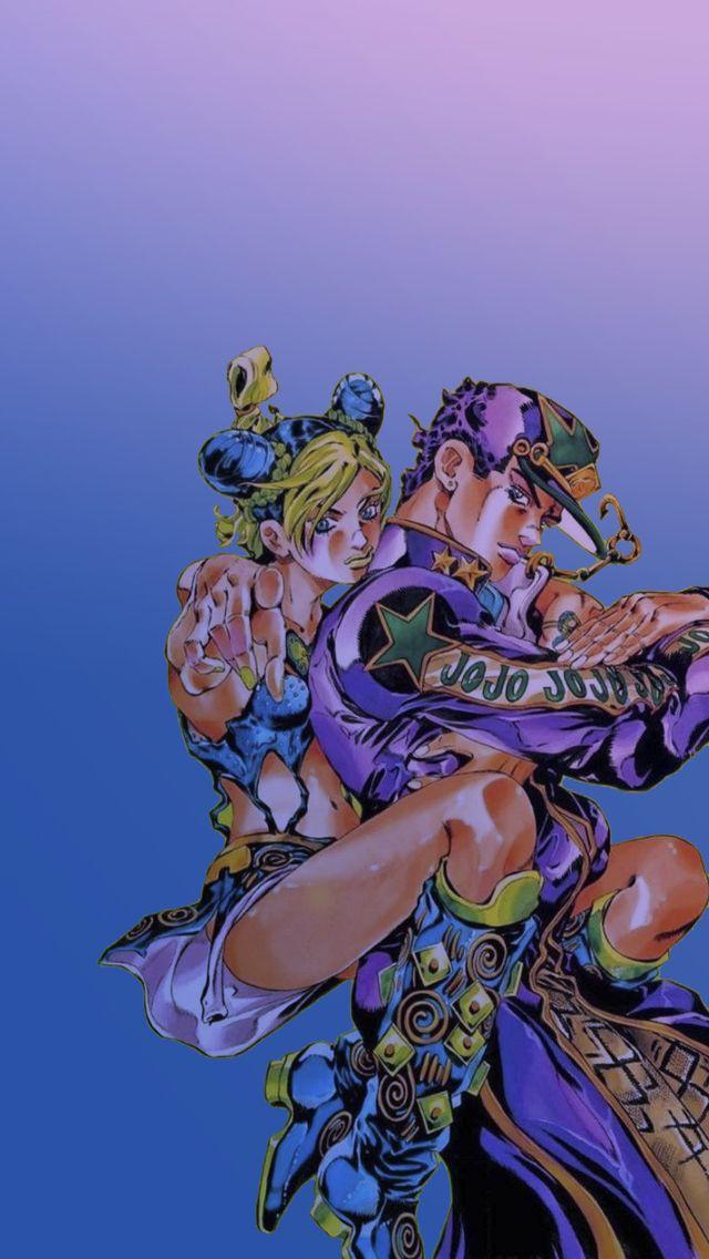 Jotaro X Jolyne Jojo Anime Anime Wallpaper Jojo Bizzare Adventure