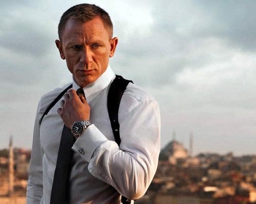 "Daniel Craig as James Bond in ""Skyfall""."