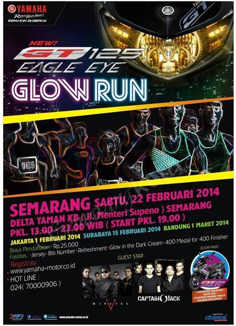 GT 125 Glow Run Yamaha #Semarang #Surabaya #Bandung #Jakarta