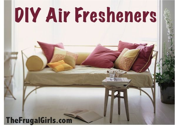 35 Creative DIY Ways to Keep Your Home Smelling Great! ~ from TheFrugalGirls.com #air #fresheners