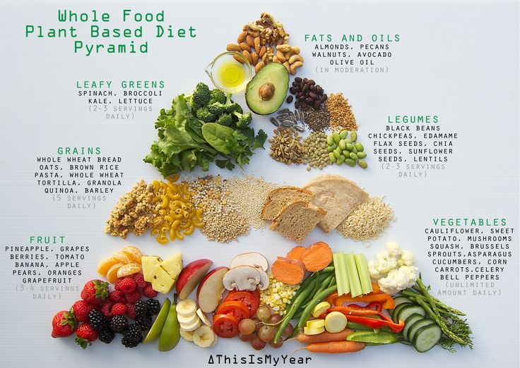 Plant Based Diet Food Pyramid #thisismyear