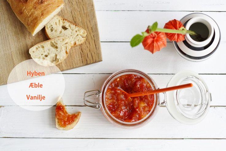 Hybenmarmelade med æble og vanilje ♥ jegelskermad.dk