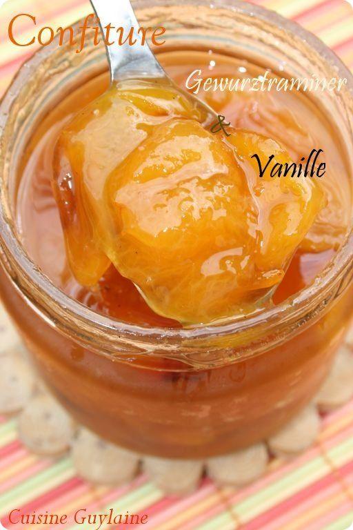 Confiture de mirabelles au gewurztraminer et à la vanille selon Christine Ferber