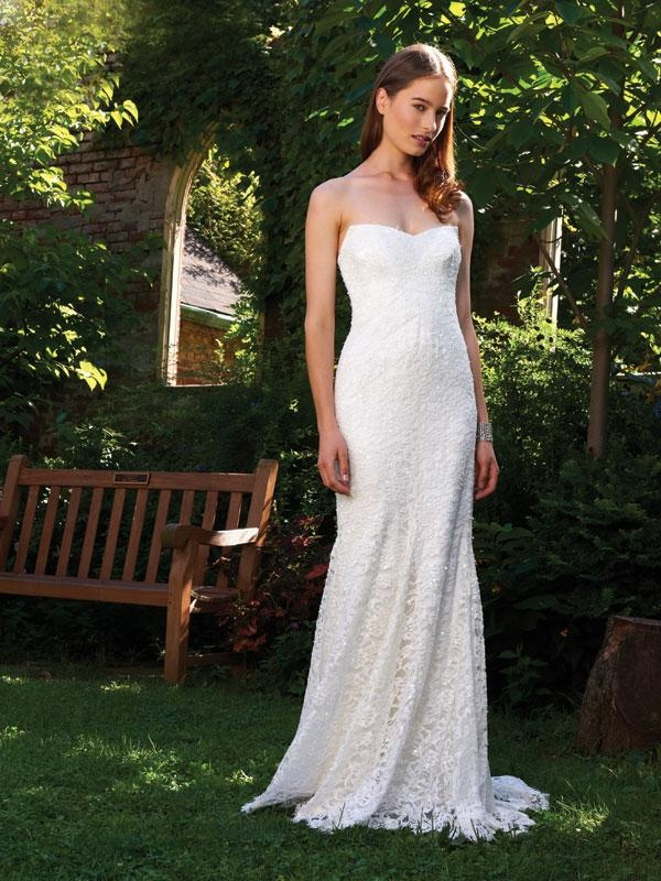 1308 best images about beach theme wedding on pinterest for Nicole miller beach wedding dress