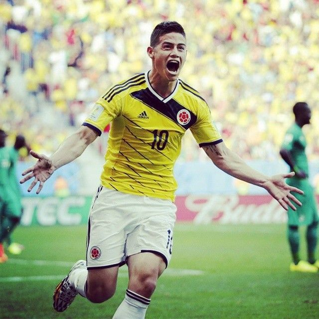 James Rodrigez #colombia What a talent..;]]]