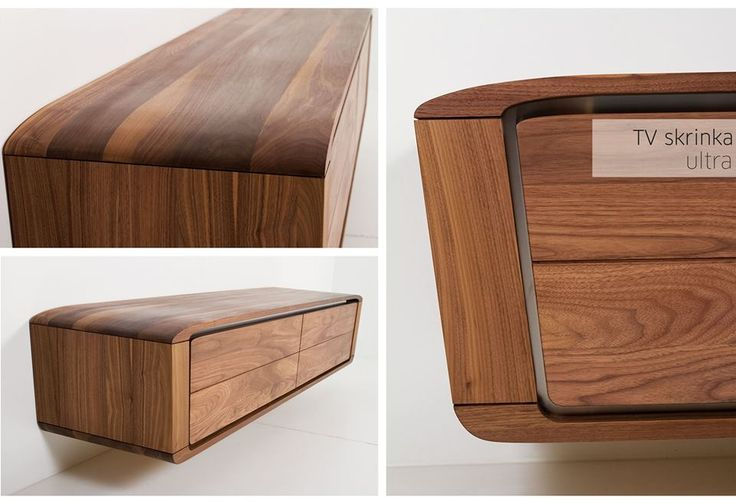 Furniture Designs JAVORINA :: Masívna dubová TV skrinka ULTRA | Solid oak TV unit ULTRA shop.javorina.eu