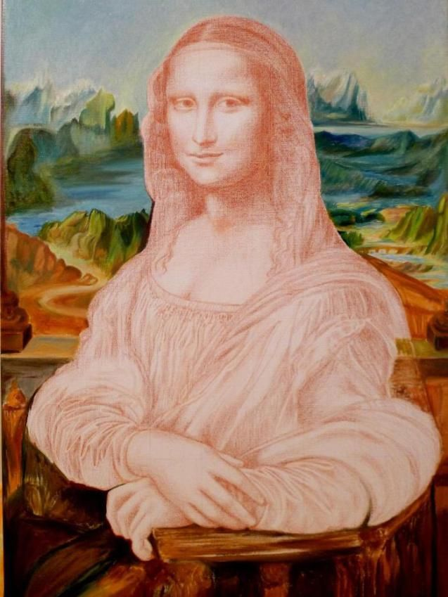 Häufig 72 best Mona Lisa images on Pinterest | Mona lisa, Famous art and  WC27