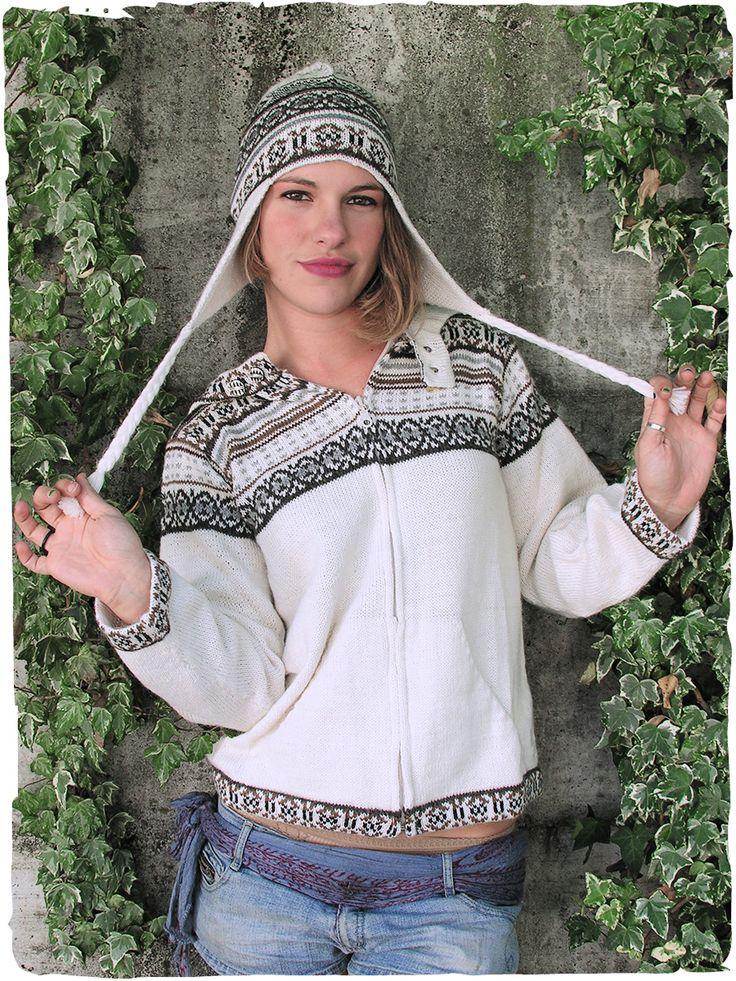 Cardigan Niki Cardigan con cappuccio e cerniera - due tasche - disegni etnici S/M - M/L100% lana d'alpaca filo semplicemoda italiana made in Perù lavabile in lavatrice 30°  #modaetnica #ethnicalfashion #alpacaswhool #lanadialpaca #peruvianfashion #peru #lamamita #moda #fashion #italianfashion #style #italianstyle #modaitaliana #lamamitafashion #moda2015 #fashion2015