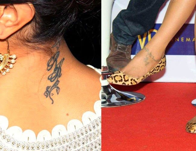 Tattoos for Dipika Padukone #bollywoodTattoos