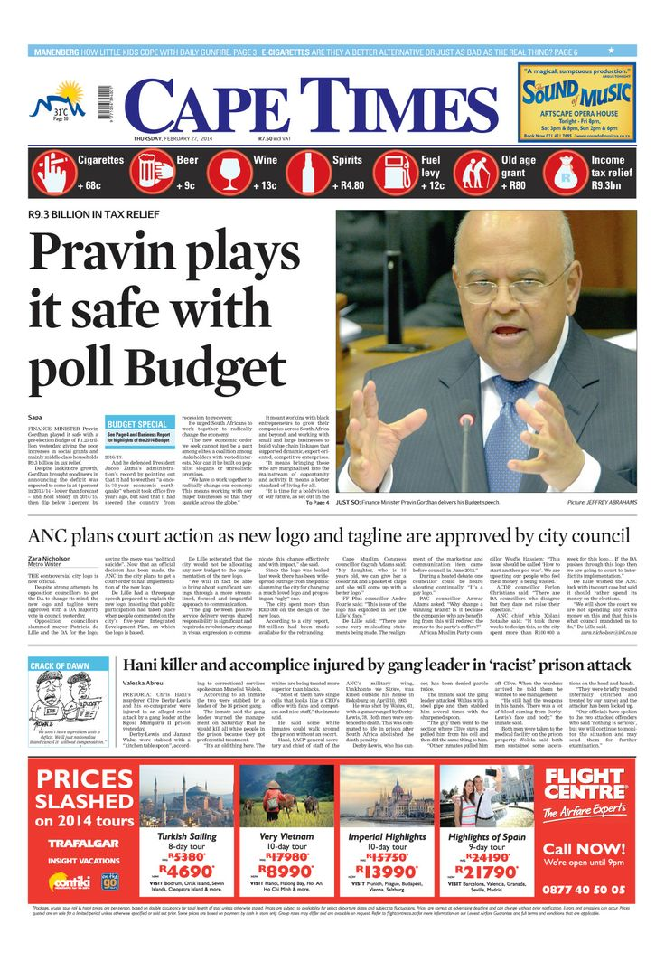 News making headlines: Pravin plays it safe with poll budget