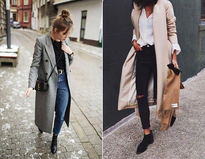 A hosszú, egyenes szabású kabát hiába egyszerű darab, nagyon öltöztet, és könnyű hozzáigazítani az öltözéket, mert bármilyen stílust elbír. Szakadt, lezser farmerral éppúgy jól mutat, mint blúzzal és szoknyával.
