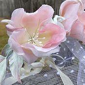 Ярмарка Мастеров - ручная работа Скидка 10%! Свадебный комплект из натурального шелка. Handmade.