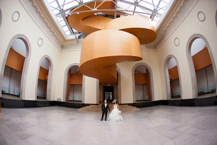 Art Gallery of Ontario bride and groom