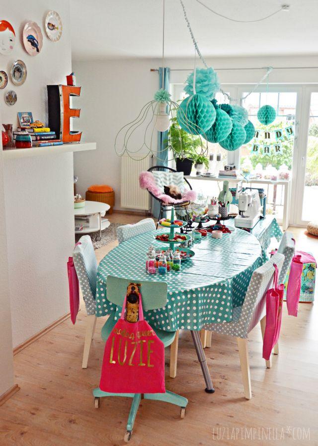 luzia pimpinella | DIY crafting birthday party for a 12 year old | #birthdayparty #craftigparty #partydecoration