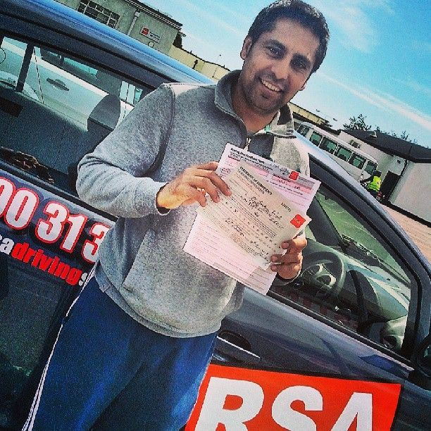 Congratulations Jaskarn who passed his test yesterday in Finglas with our instructor Paul at http://www.rsadrivingschool.ie #rsadrivingschool # drivingtest #drivinglessonsdublin
