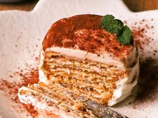 ティラミス風✽簡単ビスケットケーキの画像