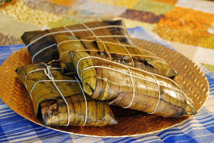 Hallacas Vegetarianas!  Krishna's recipe
