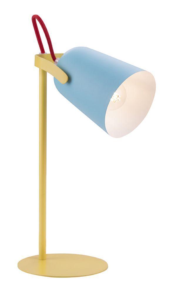 Kinder Schreibtischlampe Gelb Blau Lamp Table Lamp Desk Lamp