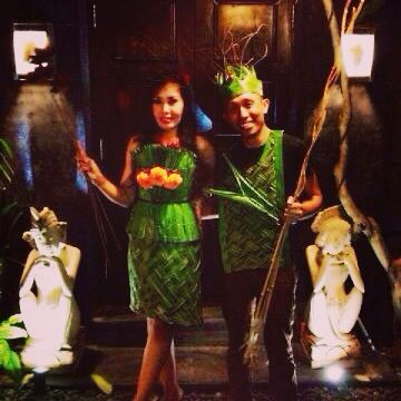 #back to Nature# Costume#Party#bali# loveone#