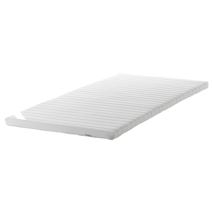 ikea 365 glass clear glass twin mattress pad and pillows. Black Bedroom Furniture Sets. Home Design Ideas