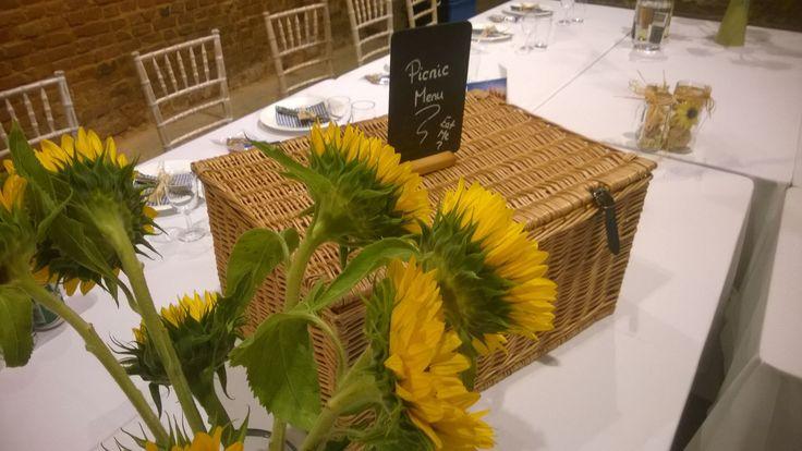 Sunflower Picnic Wedding 2