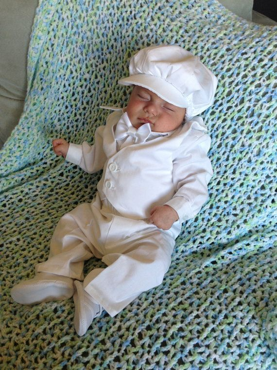 Love this!!!!  Baby Boy Christening Blessing outfit. Love the hat, lose the jacket, add suspenders.