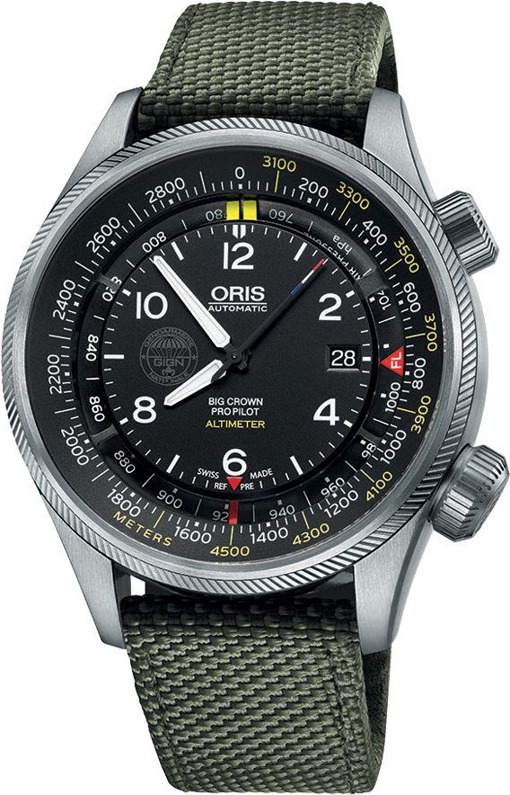 La Cote des Montres : La montre Oris GIGN - Chuteurs Opérationnels - Édition Limitée - Professionnalisme, exigence et efficacité