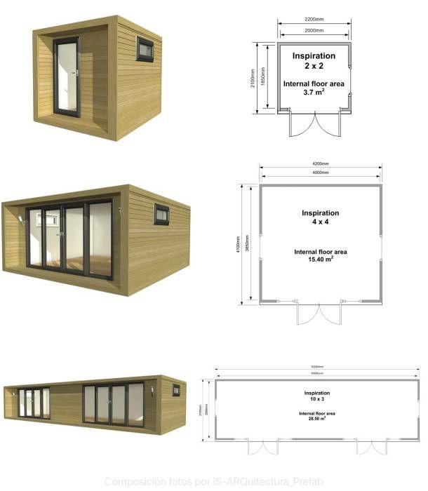 Casas prefabricadas de aluminio dise os arquitect nicos for Casetas de aluminio