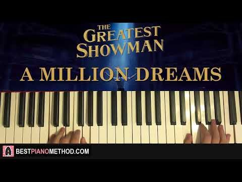 HOW TO PLAY - The Greatest Showman - A Million Dreams (Piano