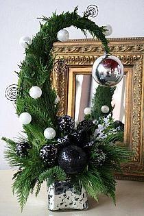 weihnachtliche Tischgesteck