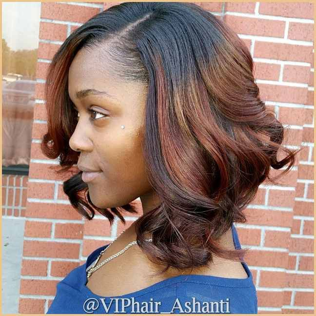 African American Messy Curly Darkt O Red Ombre Bob Hairstyle For Latest Fashion Hairstyles Messy Bob Hairstyles Bob Hairstyles Wavy Bob Hairstyles