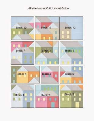 Hillside Houses QAL: Laying Out Your Blocks