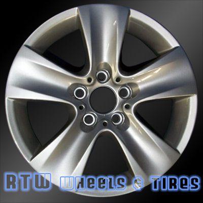 bmw 5 series wheels for sale 2011 2013 17 silver rims 71402. Black Bedroom Furniture Sets. Home Design Ideas