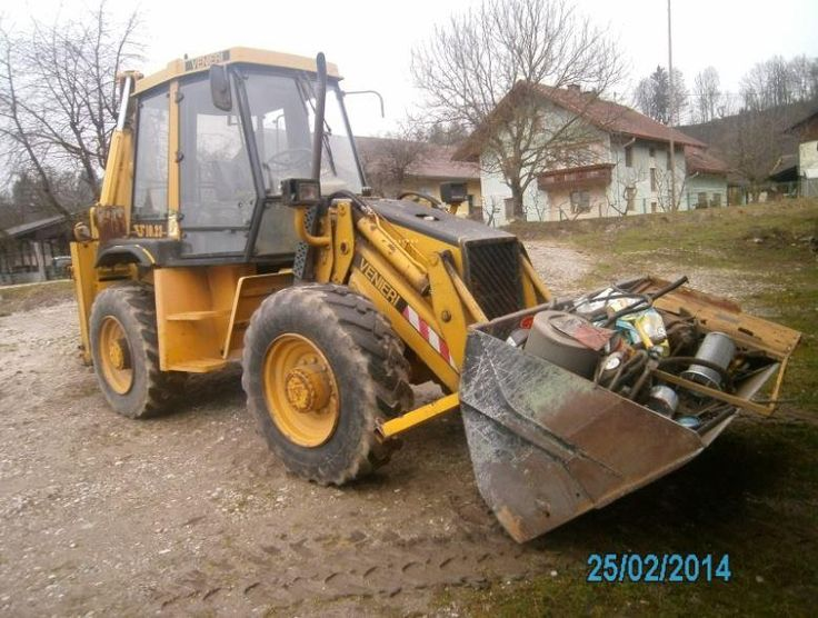 Good Price for Backhoe Vermeer VF1023 Second Hand. Manufacture year: 1993. Hours worked: 6500 hours. Excellent running condition. Ask us for price Reference Number: AC364. Baurent Romania.