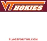 Virginia Tech Hokies Banner 8' x 2'