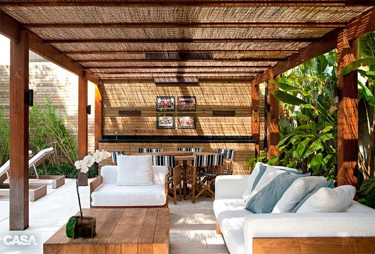 Sete varandas e quintais aconchegantes para curtir a primavera - Casa
