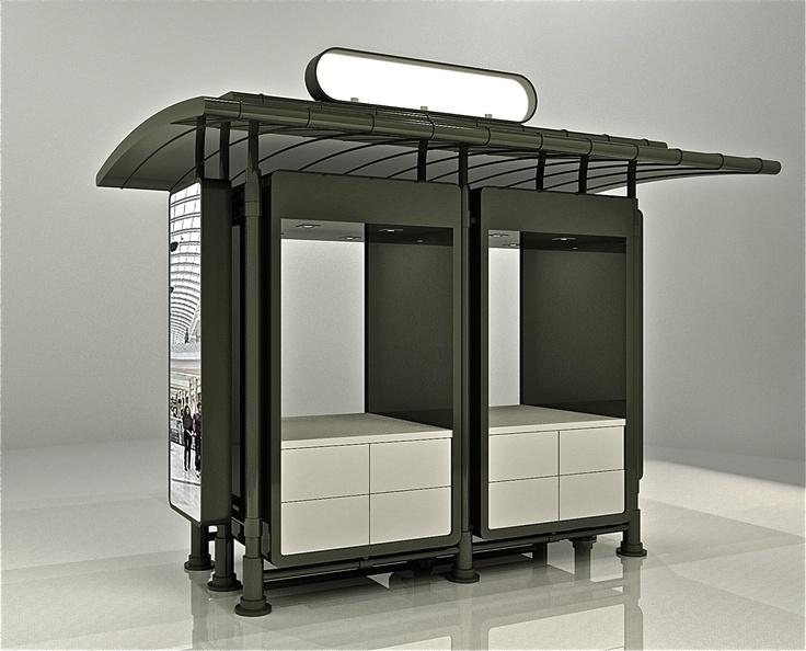 21 best kiosk images on pinterest kiosk kiosk design for Exterior kiosk design