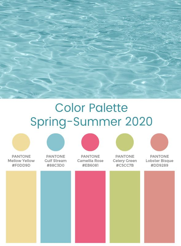 Pin On Spring Color Trends 2020