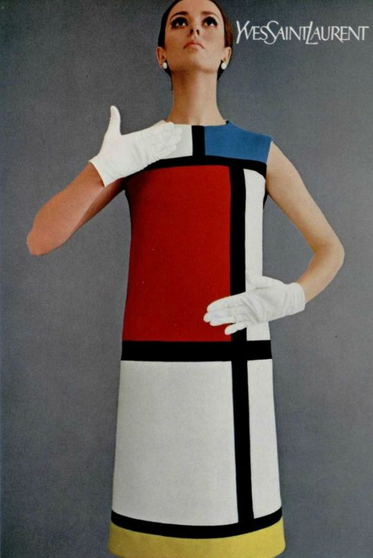 1965 Yves Saint Laurent, Mondrian Dress | @andwhatelse