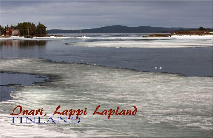 """"""" kevät voittaa talven"""" Inarijärvi ,Inari-Lappi Lapland by Aili Alaiso"""